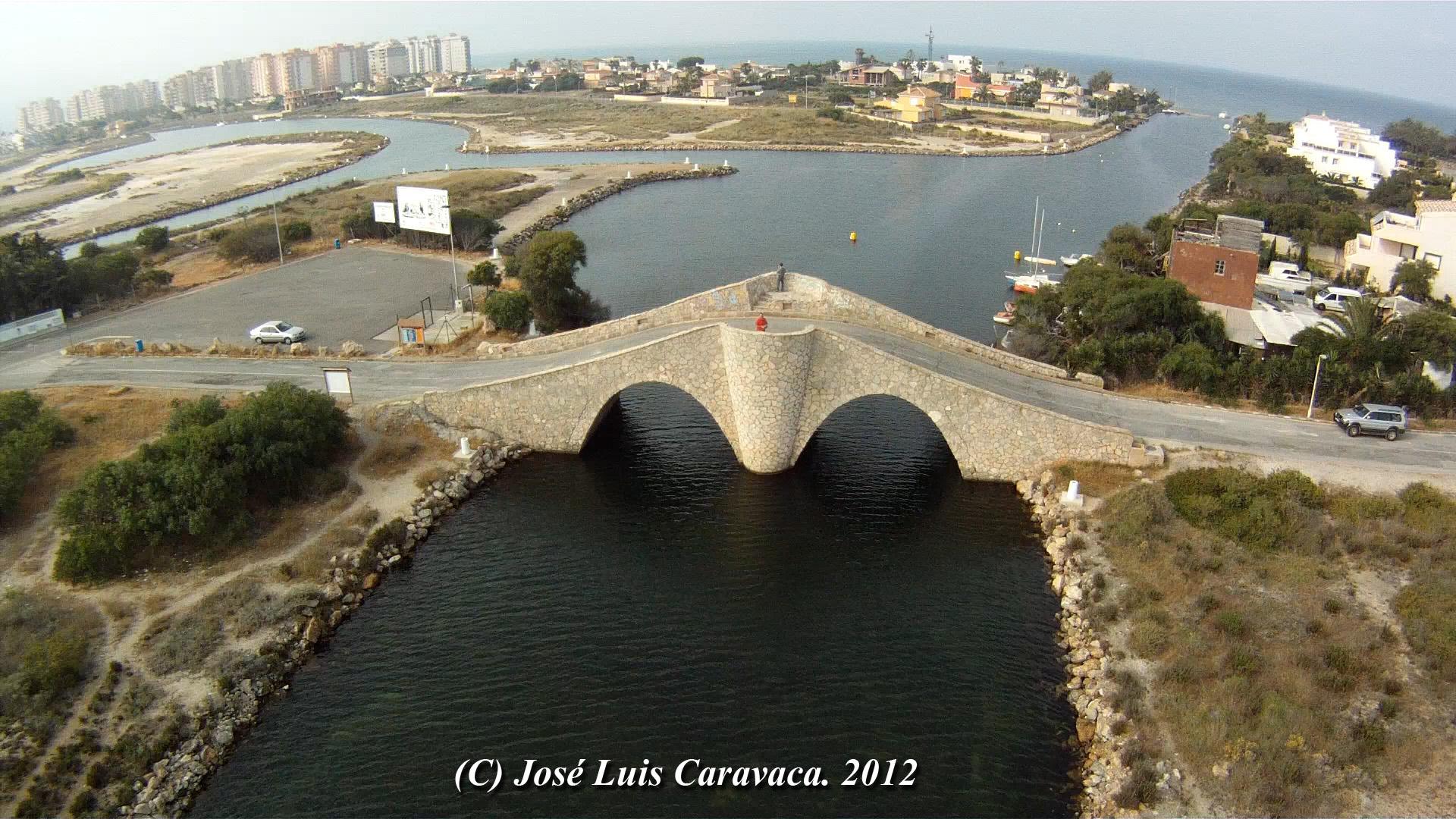 Puente de la Risa. La Manga del Mar Menor. San Javier. Murcia. Spain