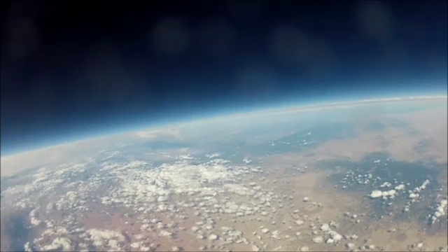 65,000 ft. Over Albuquerque, USA