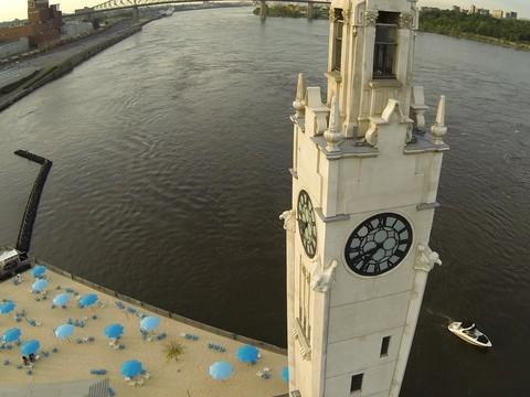 Tour de l'Horloge, Vieux port de Montréal, Qc, Canada