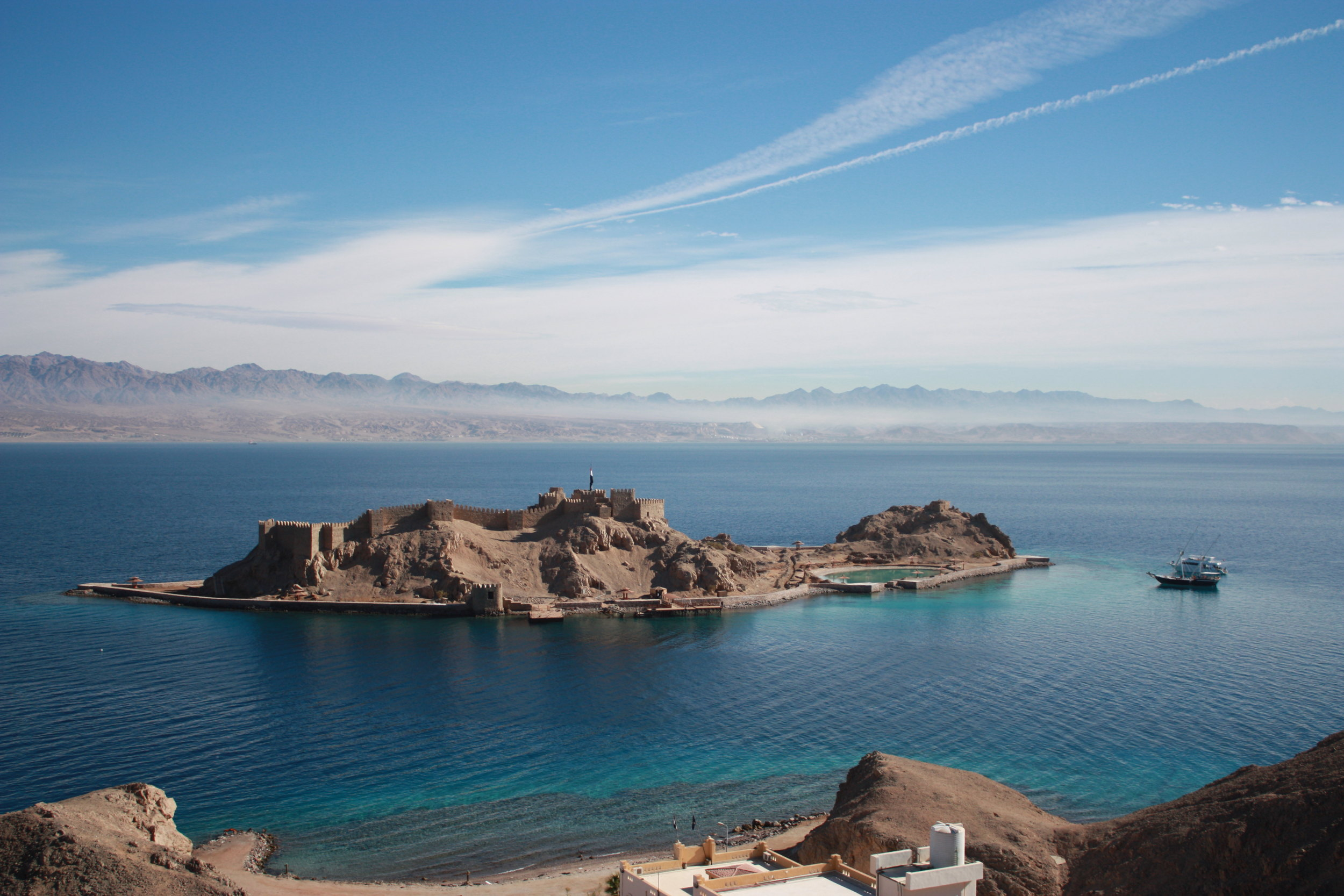 Pharaoh's Island, Sinai, Egypt