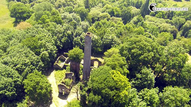 Ruine de la forge de la Jahotiere, Abbaretz, France
