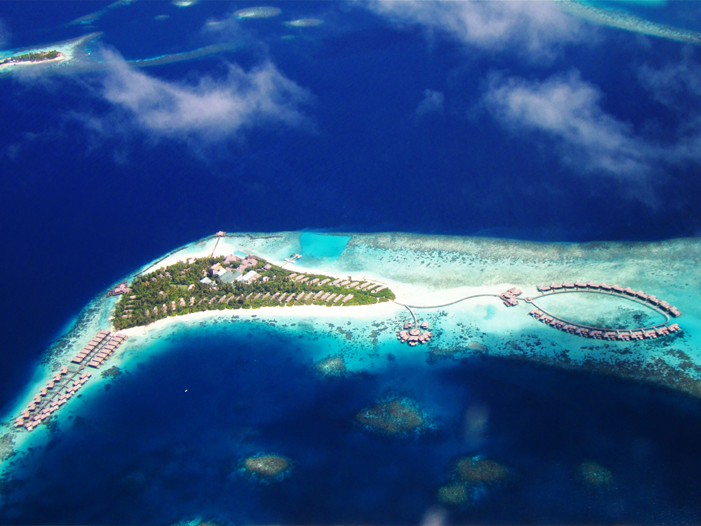 Coco Palm Bodu Hithi Maldives Dronestagram