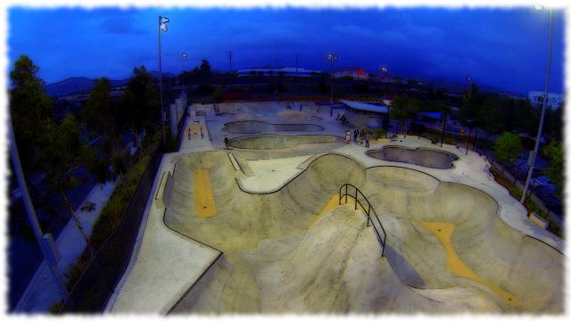 etnies skateboard park, California, USA