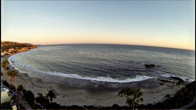 Laguna Beach wide, USA