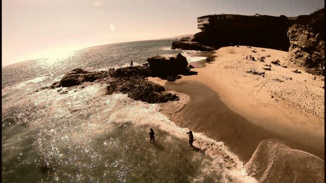 Laguna Beach table rock, USA