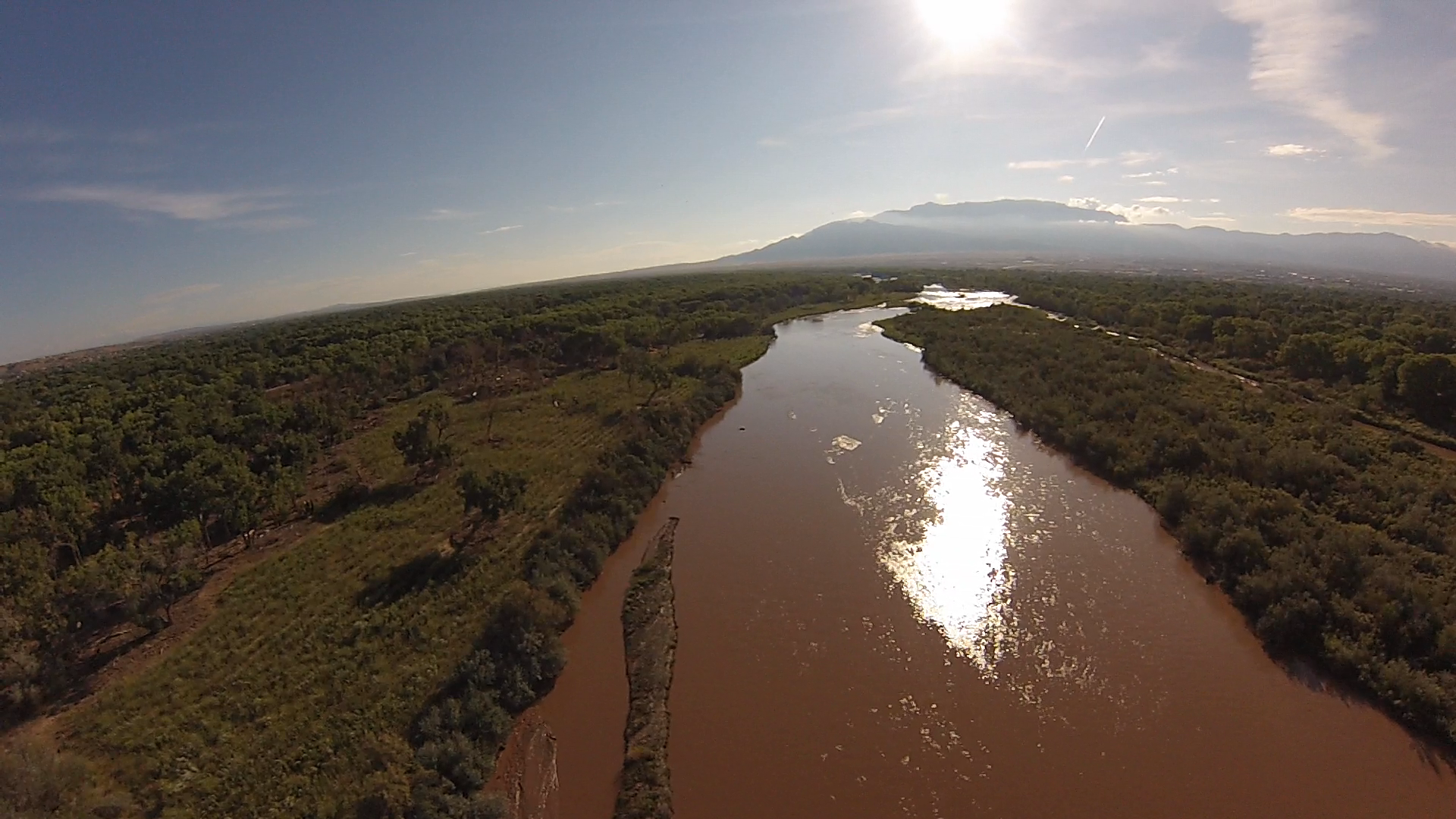 Rio Grande River near Alameda Blvd, USA