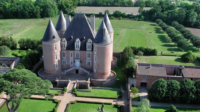 Saint elix le chateau, France