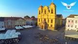 Serbian Orthodox Church in Union Square, Timisoara, Romania