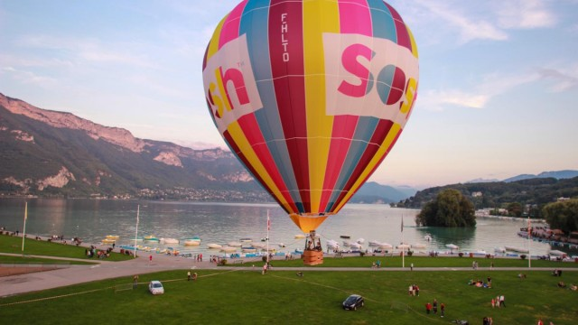 Paquier, Albigny Bay, Annecy Lake, Annecy, Haute-Savoie, France