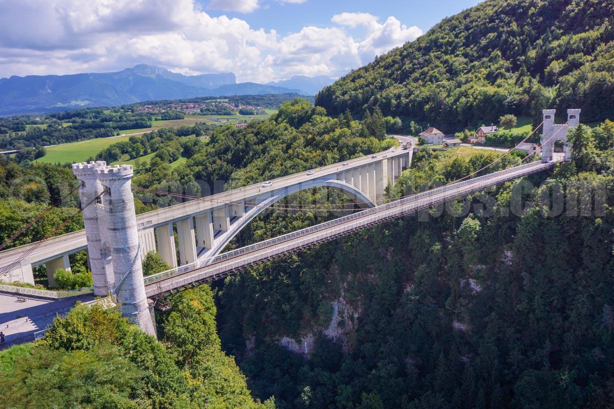 Pont de la caille allonzier haute savoie france for Haute savoie