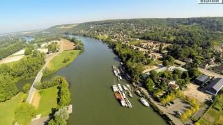 Quai aux vins, Limay,Yvelines,France