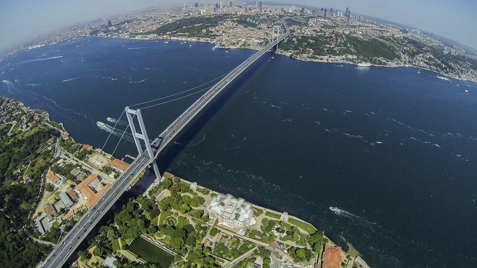 Boszporusz-híd - Forrás: ufuk - dromestagram