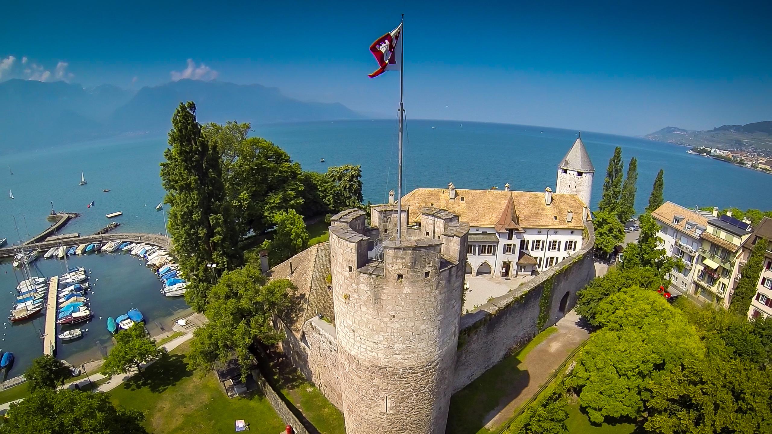 Château de La Tour-de-Peilz, Switzerland ...