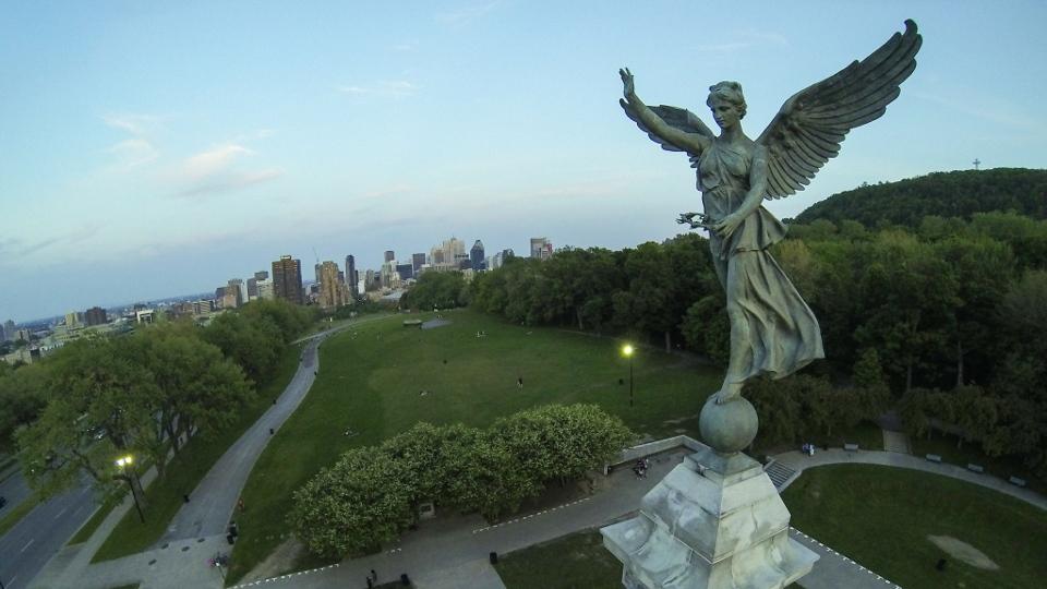Parc Montreal Parc Jeanne-mance Montréal