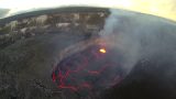 Halemaumau Crater, Kilauea Caldera, Hawaii Volcanoes National Park, Big Island, Hawaii, USA