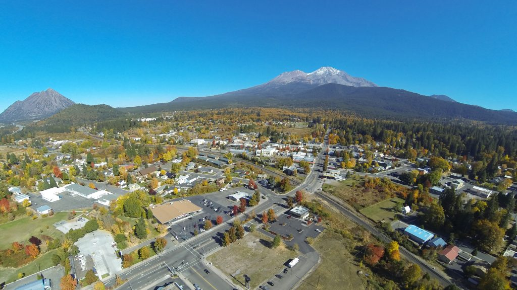 Mount Shasta (CA) United States  City new picture : Mount Shasta City, California | Dronestagram
