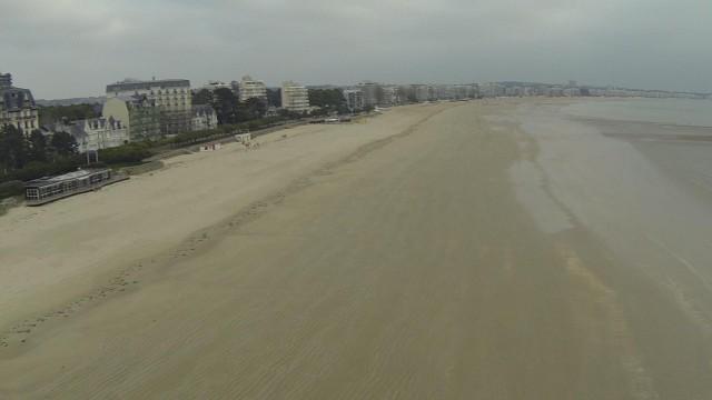Plage de La Baule, La Baule, Loire Atlantique, France