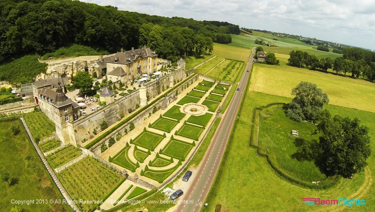 Château Neercanne   Dronestagram