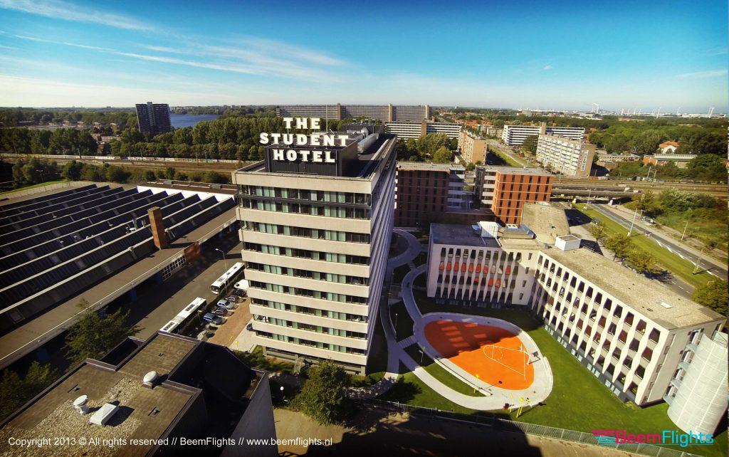 the student hotel amsterdam dronestagram. Black Bedroom Furniture Sets. Home Design Ideas