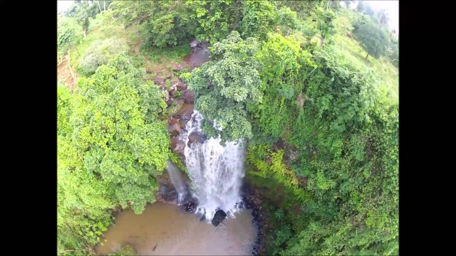 Hapandzo Falls, Mayotte, Mozambic channel, Indian Ocean