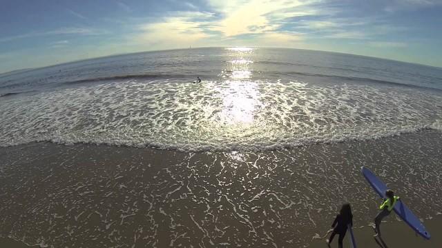 Malibu Beach in December