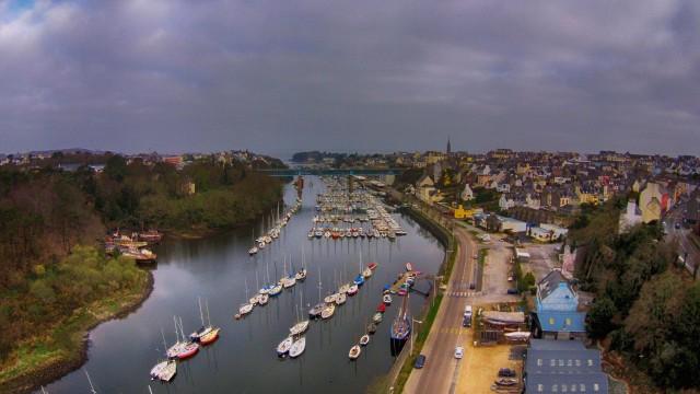 Douarnenez Quai, Douarnenez, Finistère, France