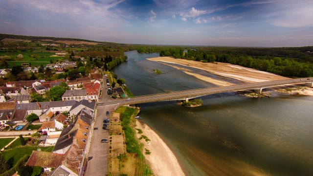 Quai de Loire,Saint-satur,Cher,France