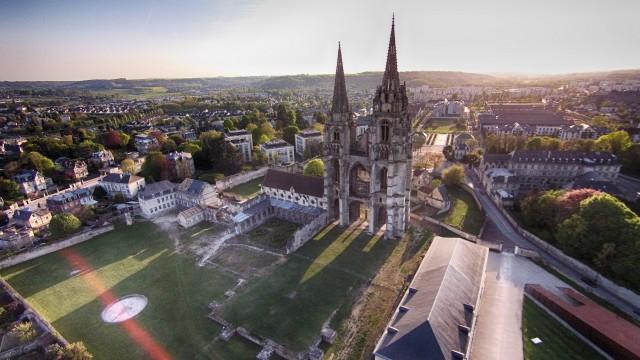 Abbaye Saint Jean des Vignes,Soissons,Aisne ,France