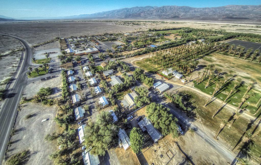 Furnace Creek Ranch Death Valley California Usa