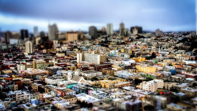 San Fransico, California, Downtown