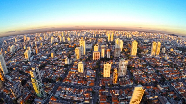 South side of Sao Paulo city, Brazil