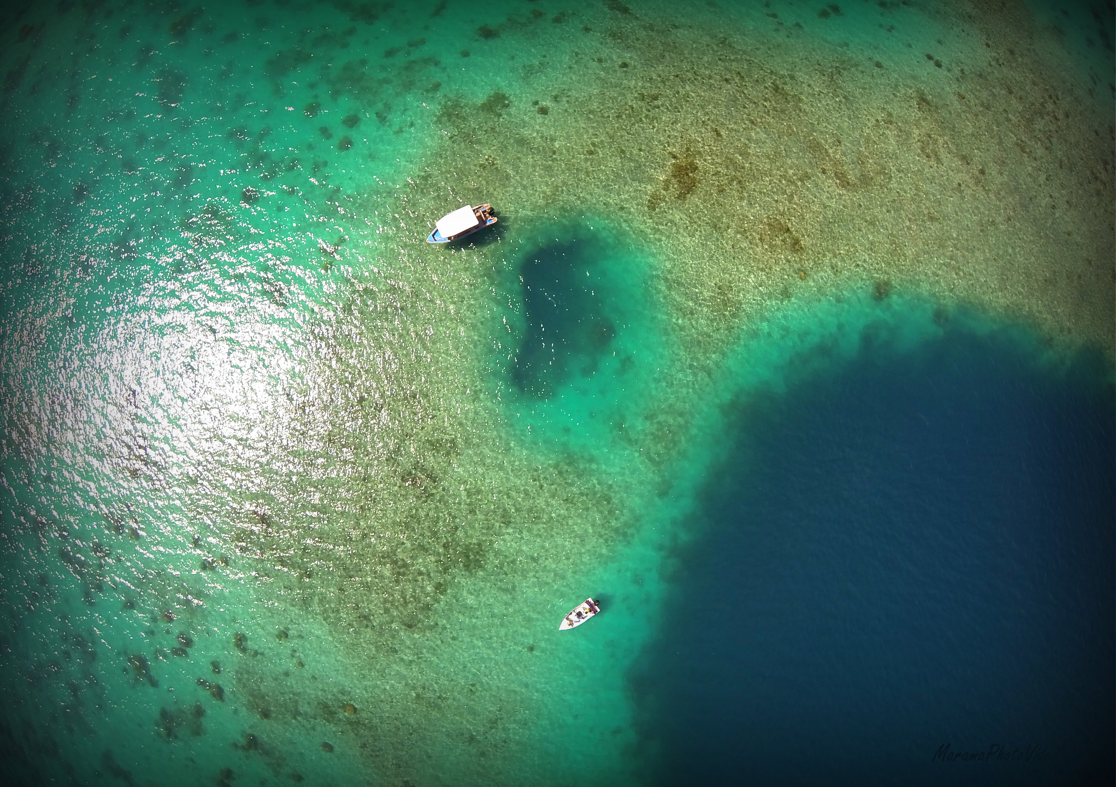 Taha'a lagoon, French Polynesia