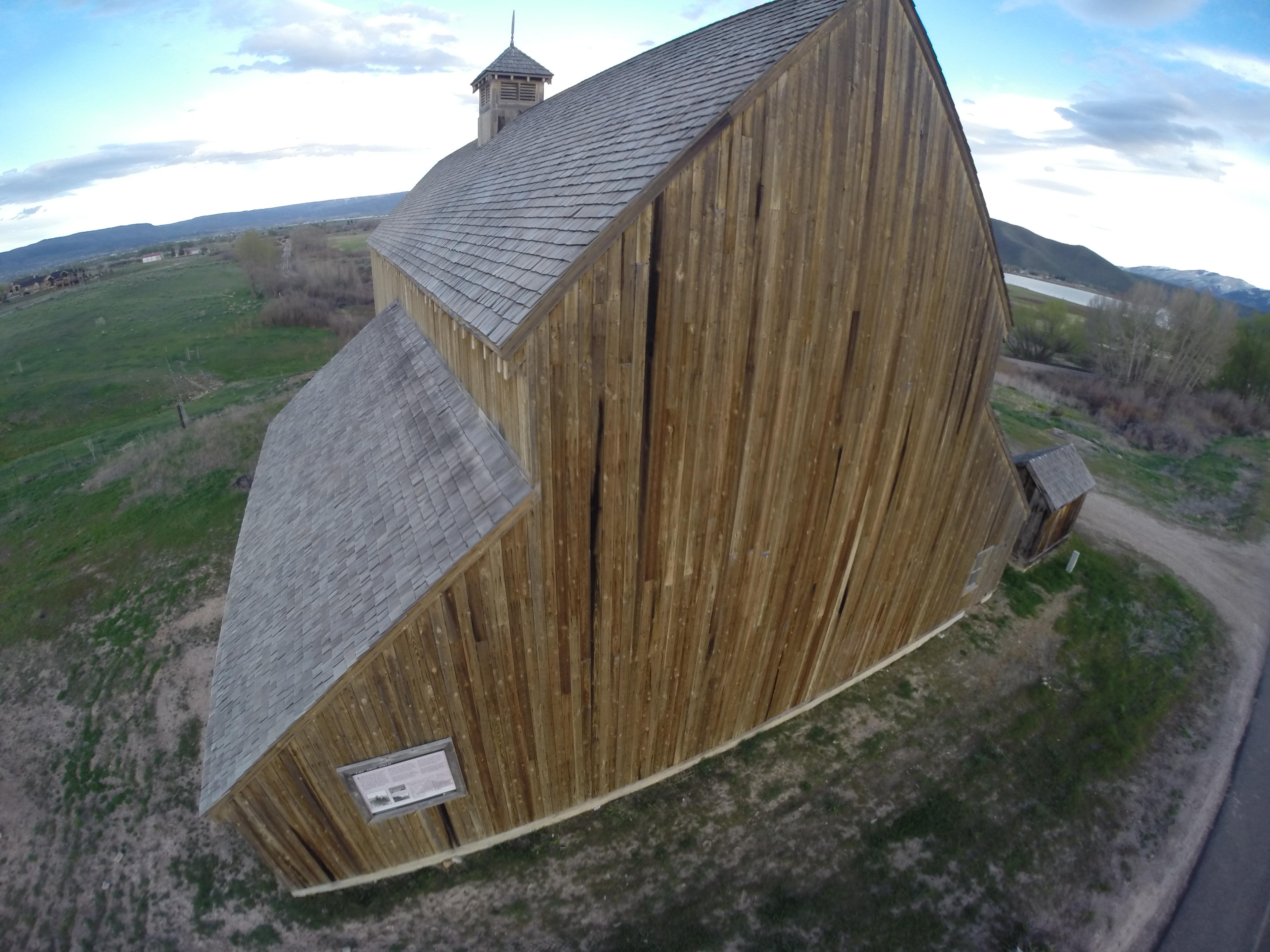 """Tate Historical Barn,Midway,Utah,USA"""
