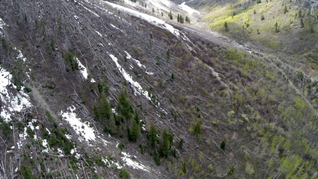 """Avalanche Power"" Upper Sundance Resort at The base of the Timpanogos Mountains"""