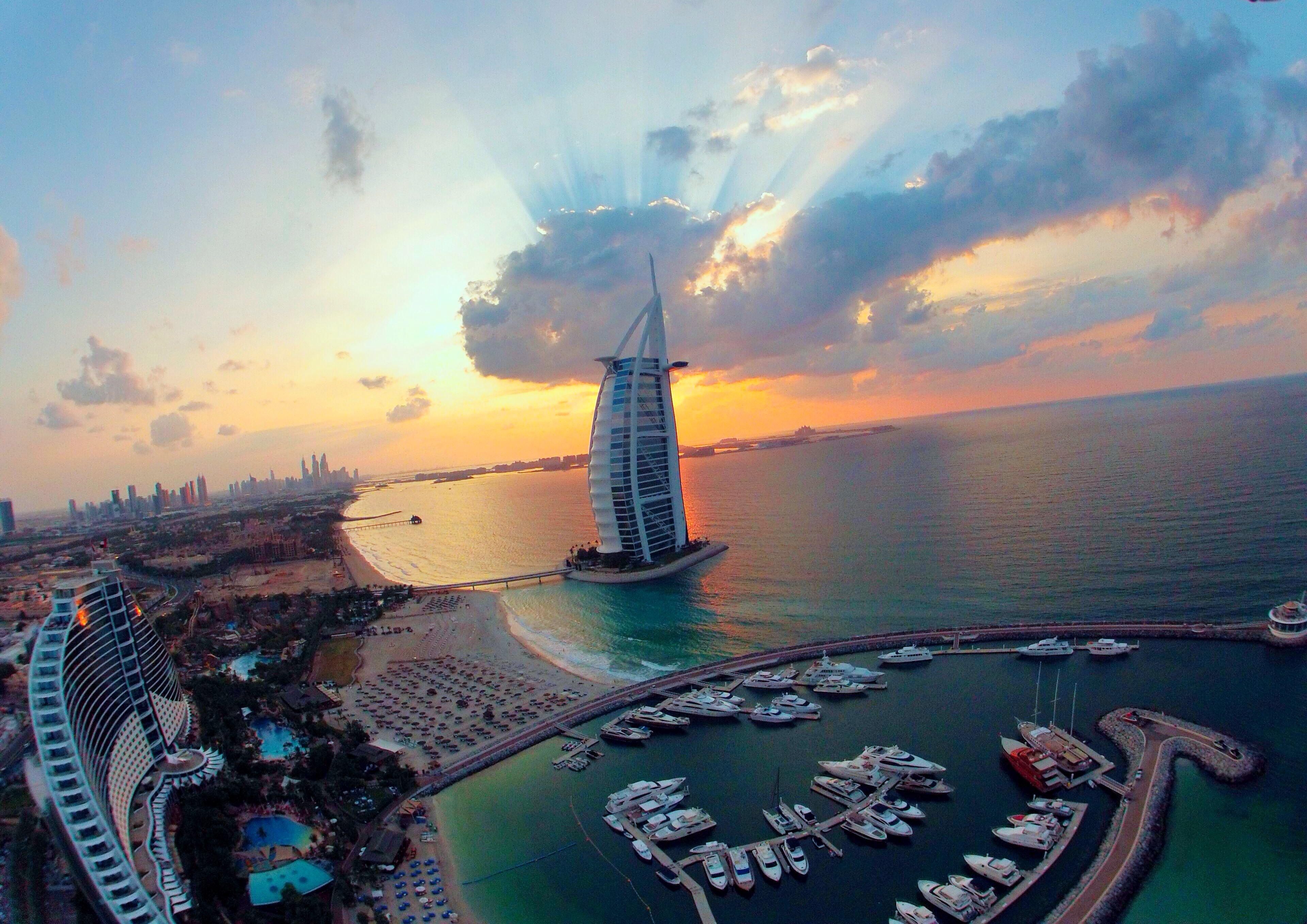 Burj Al Arab Dubai Dronestagram