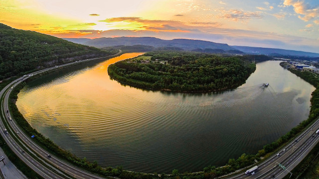 Moccasin Bend, Chattanooga, Tennessee