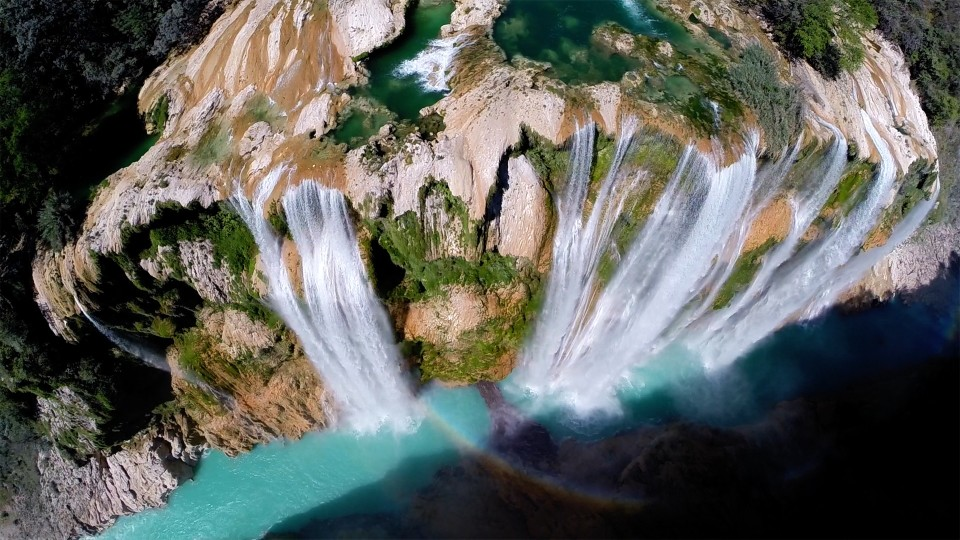 These aerial drone photographs are just wow