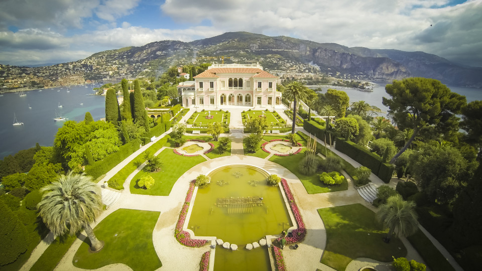 villa ephrussi de rothschild saint jean cap ferrat alpes