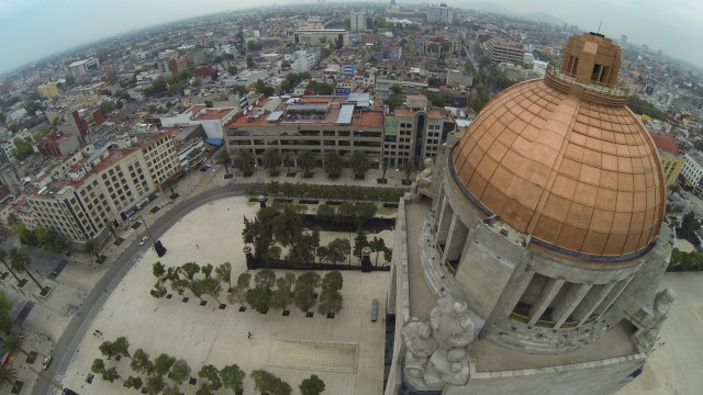 Plaza de la Republica, Mexico, DF.