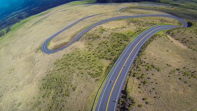 """Haleakala """"Crater Road"""", Maui, Hawaii, USA"""