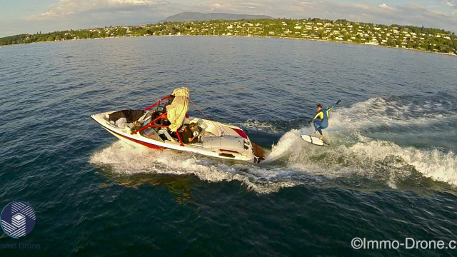 Wakesurfin in Geneva