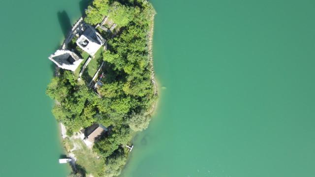 Ile d'Ogoz, Fribourg, CH