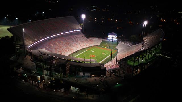 Memorial Stadium at Clemson University, Clemson, SC, USA