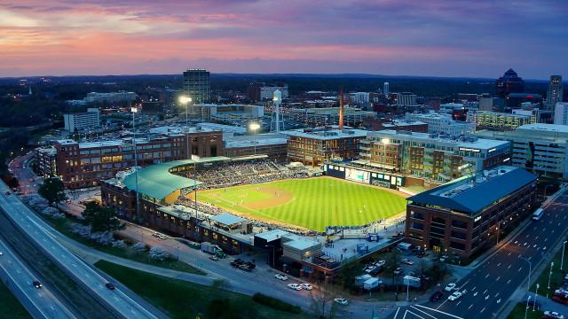Durham Bulls Athletic Park, Durham, NC, USA