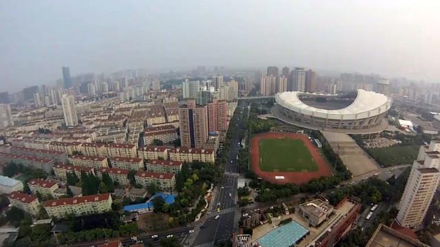 Shanghai stadium, China