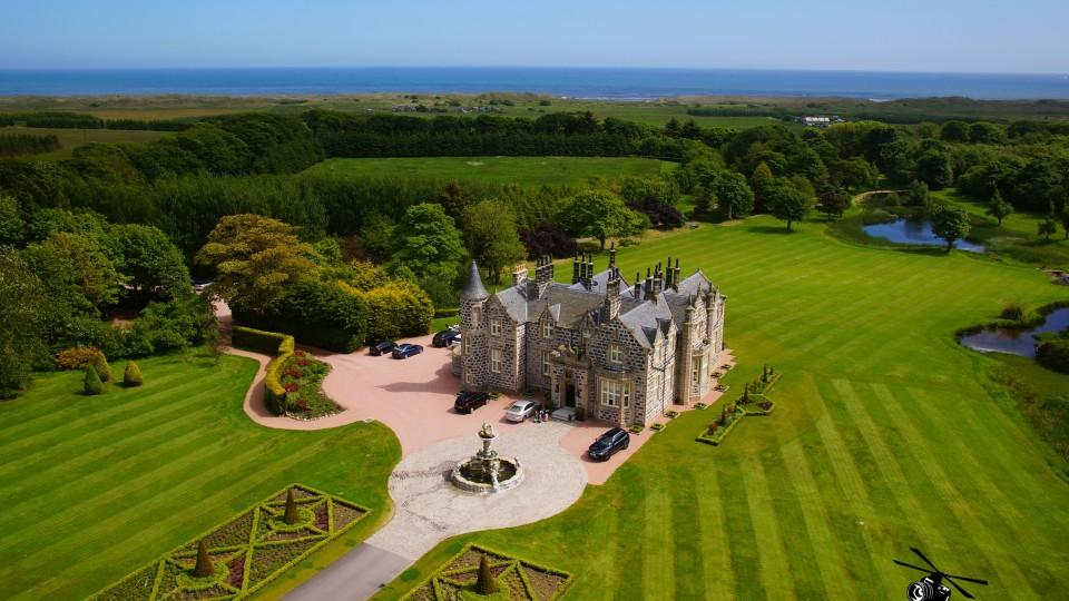 Trump Mennie Estate, Aberdeen, Scotland, UK | Dronestagram