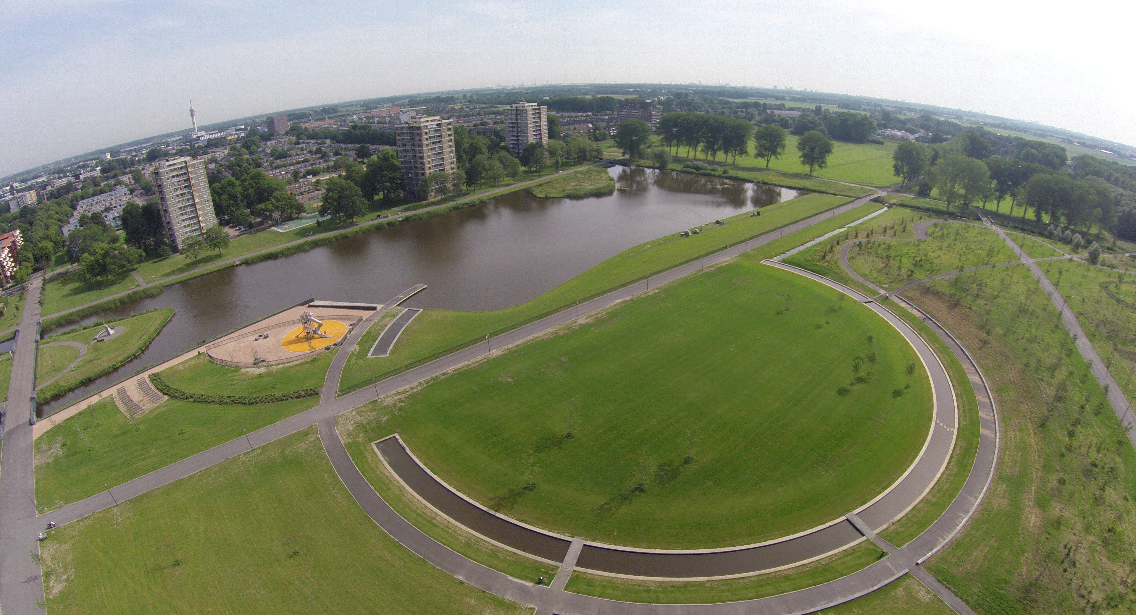 Reinalda Park, Parkwijk, Haarlem, The Netherlands