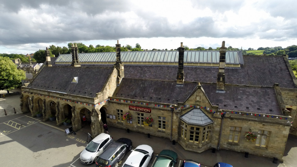 Richmond (North Yorkshire United Kingdom  City new picture : The Station, Richmond, North Yorkshire, England | Dronestagram