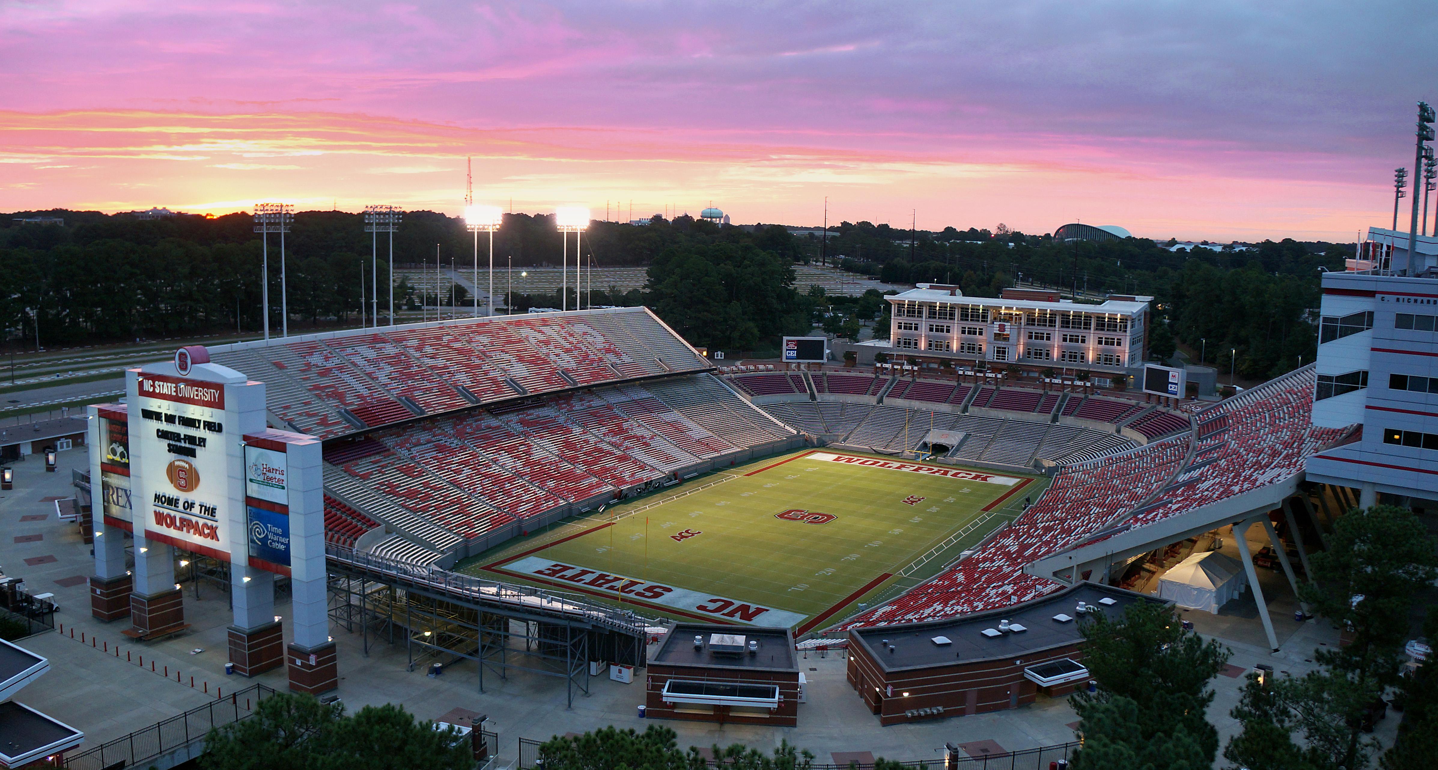 Carter-Finley Stadium, Raleigh, NC, USA