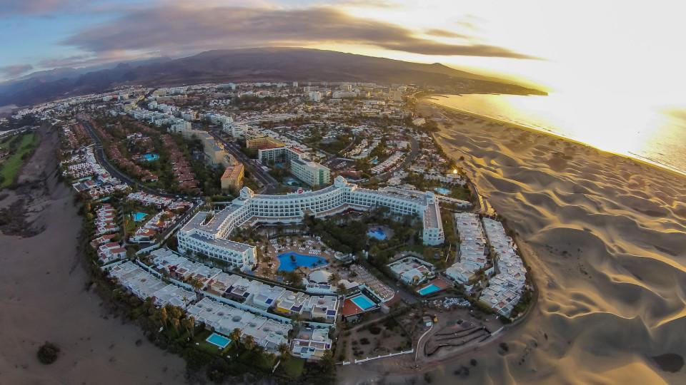 Maspalomas Gran Canaria Spain Dronestagram